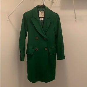 BB Dakota Green Wool Coat
